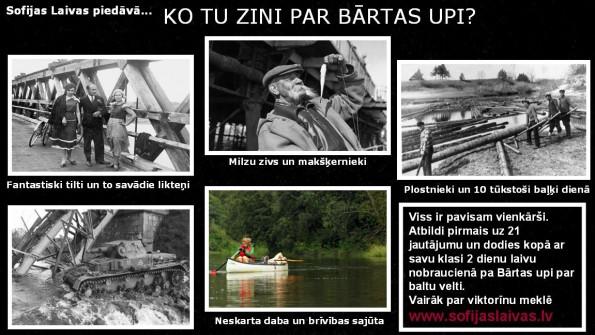 Sofijas Laivas Bartas viktorinas plakats lapai